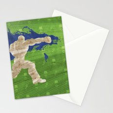 Tea Time (Homage To Dudley of Street Fighter) Stationery Cards