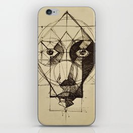 Face Shapes iPhone Skin