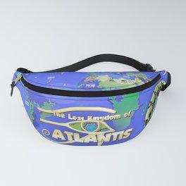 Lost Kingdom of Atlantis Fanny Pack