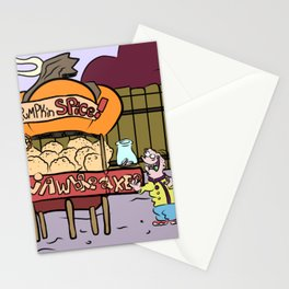 Pumpkin Spice Jawbreakers Stationery Cards