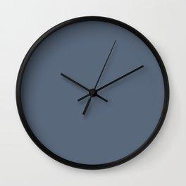 Neutral Blue VII Wall Clock