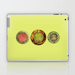 Food Mix Tris Laptop & iPad Skin