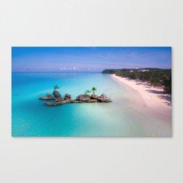 White Beach, Boracay Canvas Print