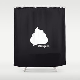 #lesgens Shower Curtain