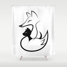 minima - guardian Shower Curtain