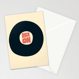 Rock on Vinyl Stationery Cards