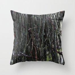 Sparkling Woods 9 Throw Pillow