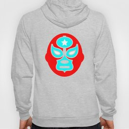 Mexican Wrestling Red Mask Hoody