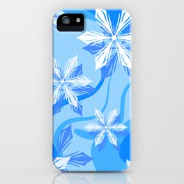 The Flower Abstract Holiday iPhone Case