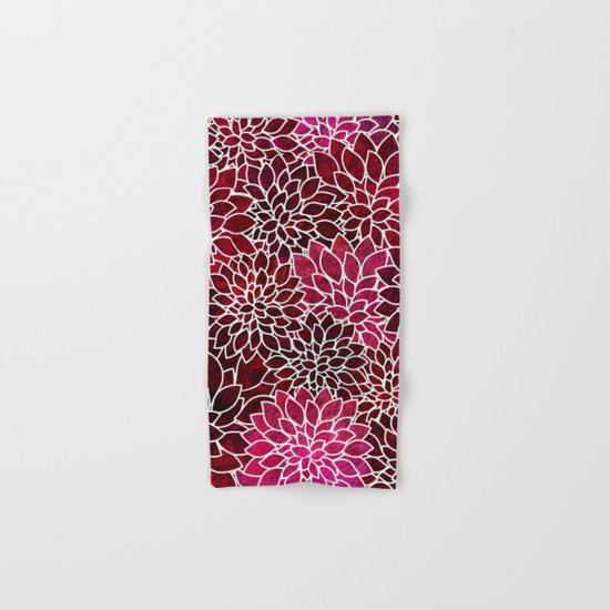 Floral Abstract 2 Hand & Bath Towel