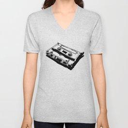 Retro Cassette Tape Unisex V-Neck