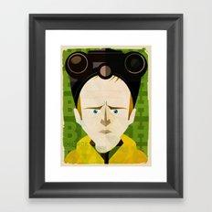 Science, bitch Framed Art Print