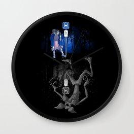 My Upside-down Neighbor Wall Clock