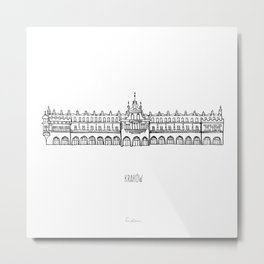Kraków Metal Print