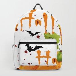 Happy Halloween,T-shirt Tshirt Shirt Tees Transparent Graphic Design  Backpack