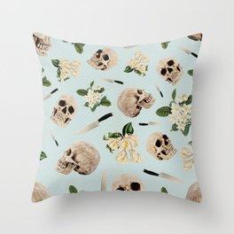 Hamlet's final romance Throw Pillow