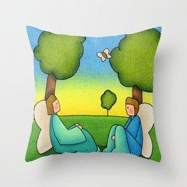 Repose Throw Pillow