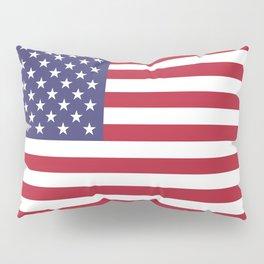 Flag of USA, 10:19 scale prints Pillow Sham