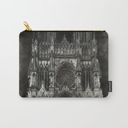 Cathedral Black Carry-All Pouch