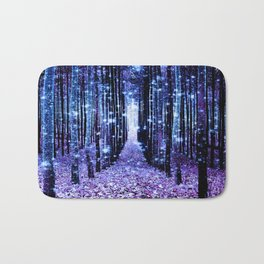 Magical Forest Turquoise Purple Badematte