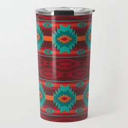 Southwestern navajo tribal pattern. Travel Mug