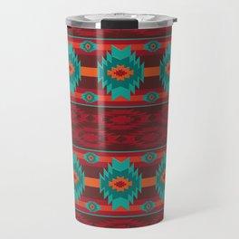 Southwestern navajo tribal pattern. Travel Mug