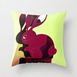 Usagi no Kompanion Throw Pillow
