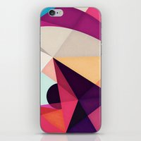 glee iPhone & iPod Skins featuring Well, This Is Weird by Anai Greog
