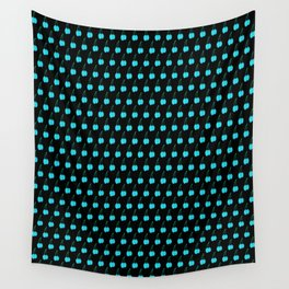 Blue Cherries Wall Tapestry