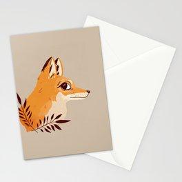 Fox Familiar Stationery Cards