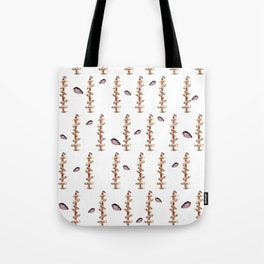 Love Sign Directions Ink and Watercolor Tote Bag
