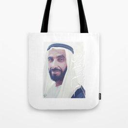 Zayed Bin Sultan Tote Bag