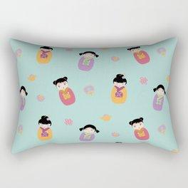 Kawaii Dolls Rectangular Pillow