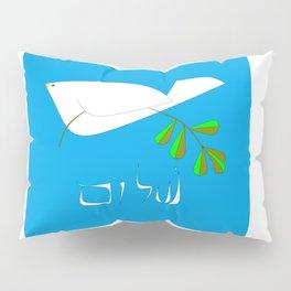 White Dove of Peace, Shalom Pillow Sham