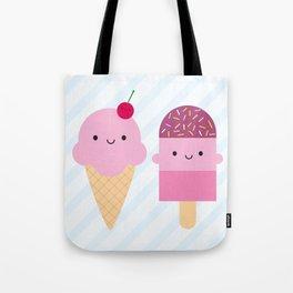 Summer Ice Cream Treats Tote Bag
