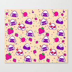 Kawaii Bento Party Canvas Print