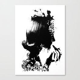 WOMAN SOLDIER Canvas Print