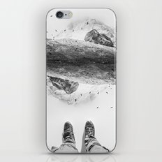 Solid ground iPhone & iPod Skin