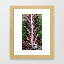 I was found like this.  Framed Art Print