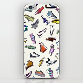 sneakers addiction iPhone Skin