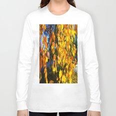 Yellow Curtains Long Sleeve T-shirt