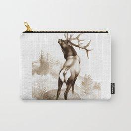 Elk In The Roar Carry-All Pouch