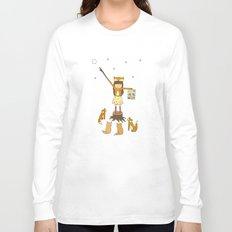 Little Fox Girl Long Sleeve T-shirt