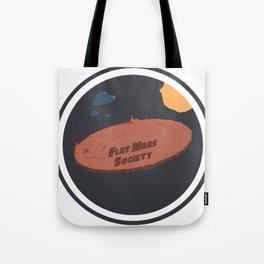 Flat Mars Society Tote Bag