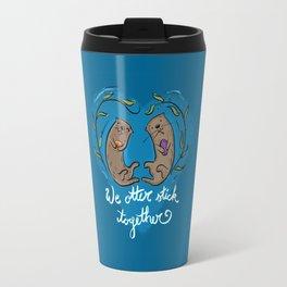 We Otter Stick Together Travel Mug