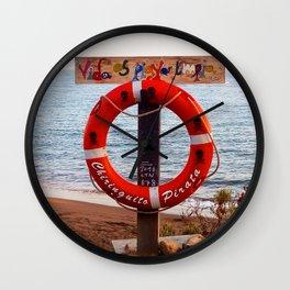 chiringuito Wall Clock