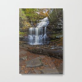 Ganoga Falls Metal Print
