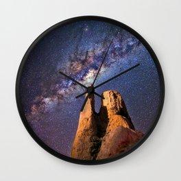 Summer Paradise Galaxy Wall Clock