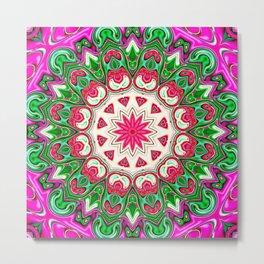 Star Flower of Symmetry 635 Metal Print