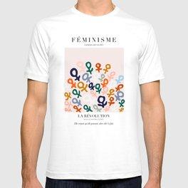 L'ART DU FÉMINISME T-shirt